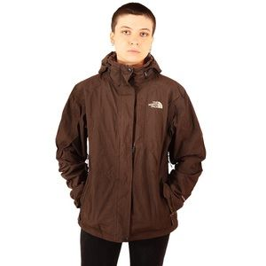 THE NORTH FACE Hivent Ski Jacket Brown Size Medium